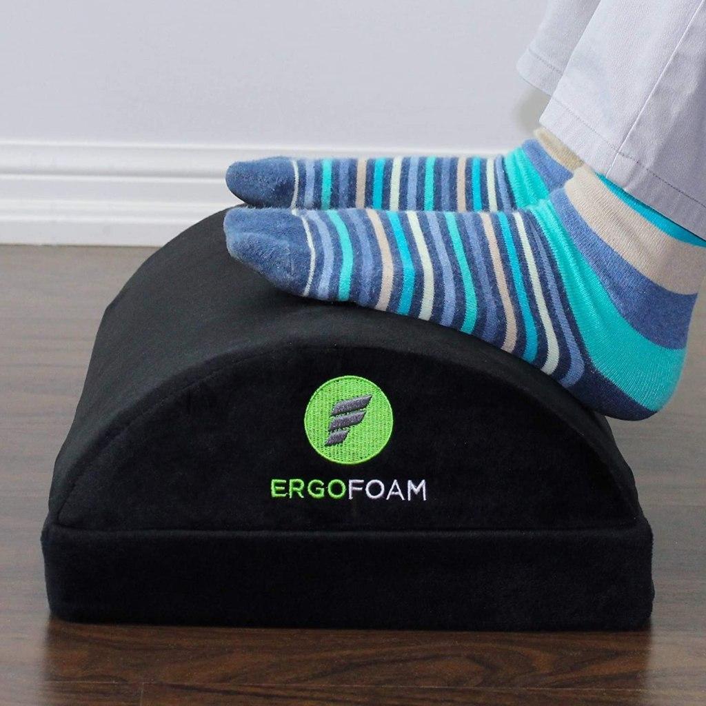 ergofoam foot rest