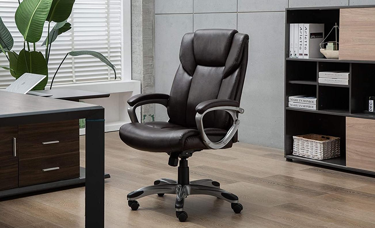Amazon Basics High-Back Desk Chair