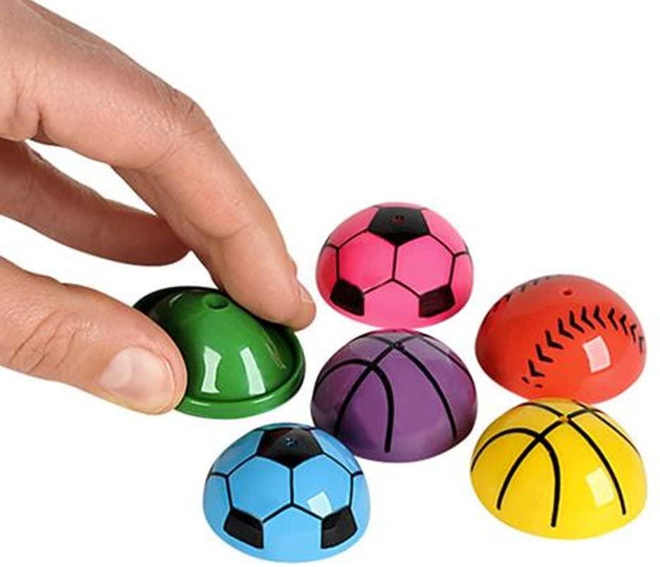 ArtCreativity 1.25 Inch Vinyl Sport Ball Poppers