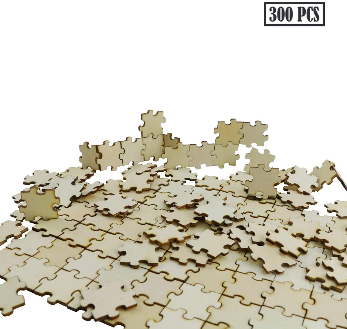 Blank Wooden DIY Jigsaw Puzzle