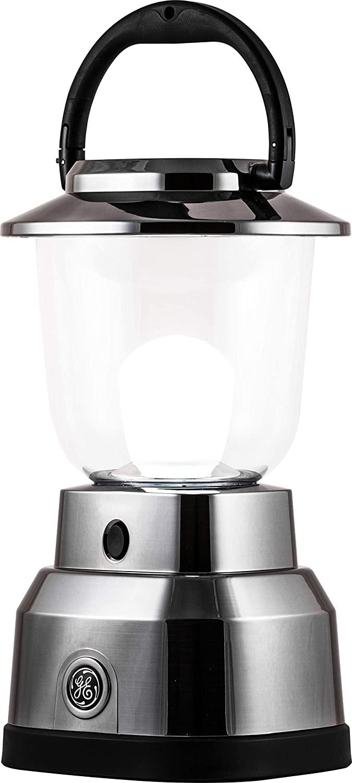 Enbrighten Brushed Nickel LED Camping Lantern