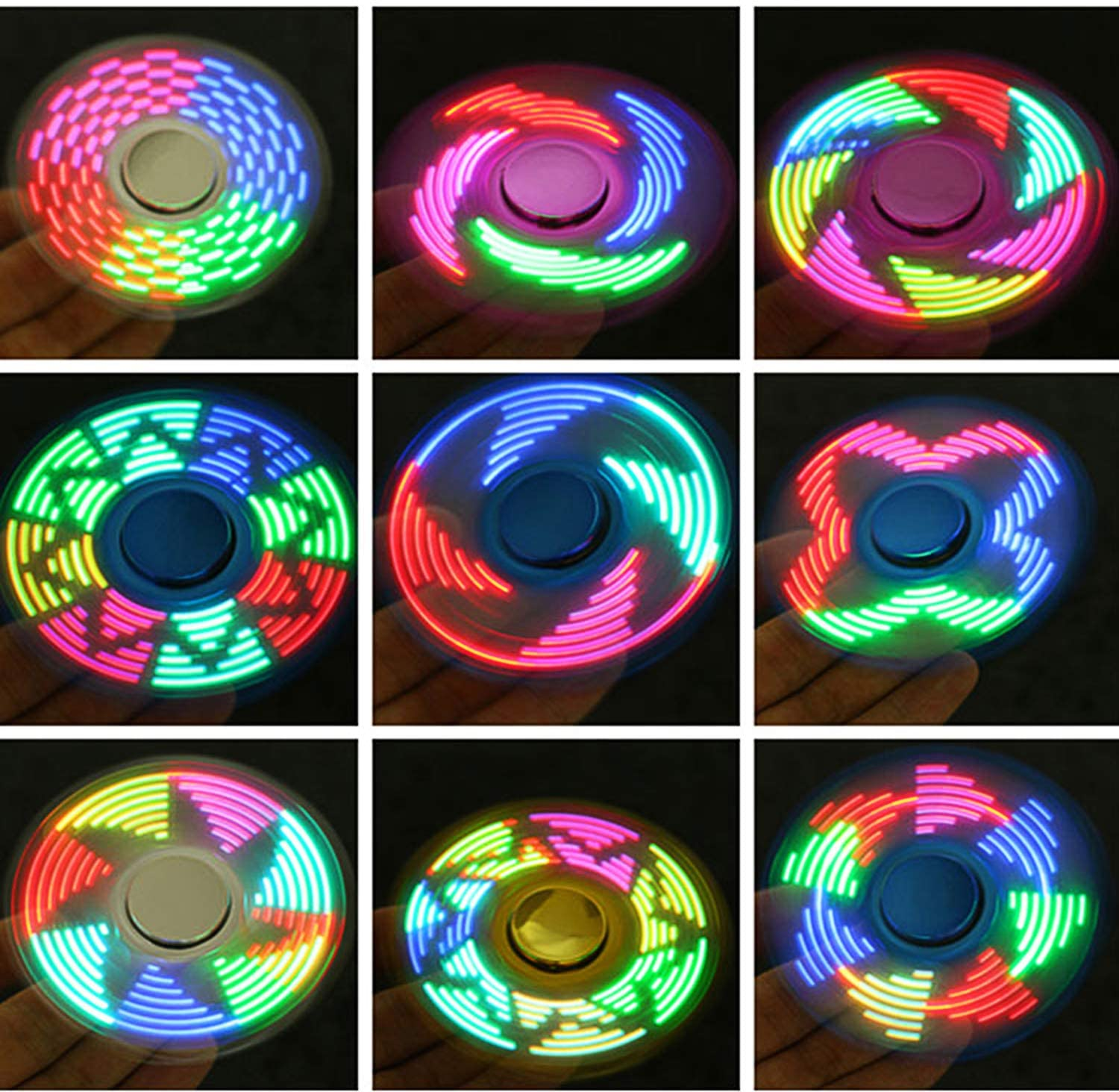 FIGROL LED Fidget Spinner