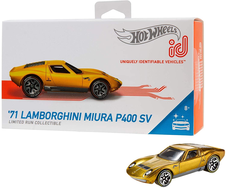 Hot Wheels iD '71 Lamborghini Miura P400 SV