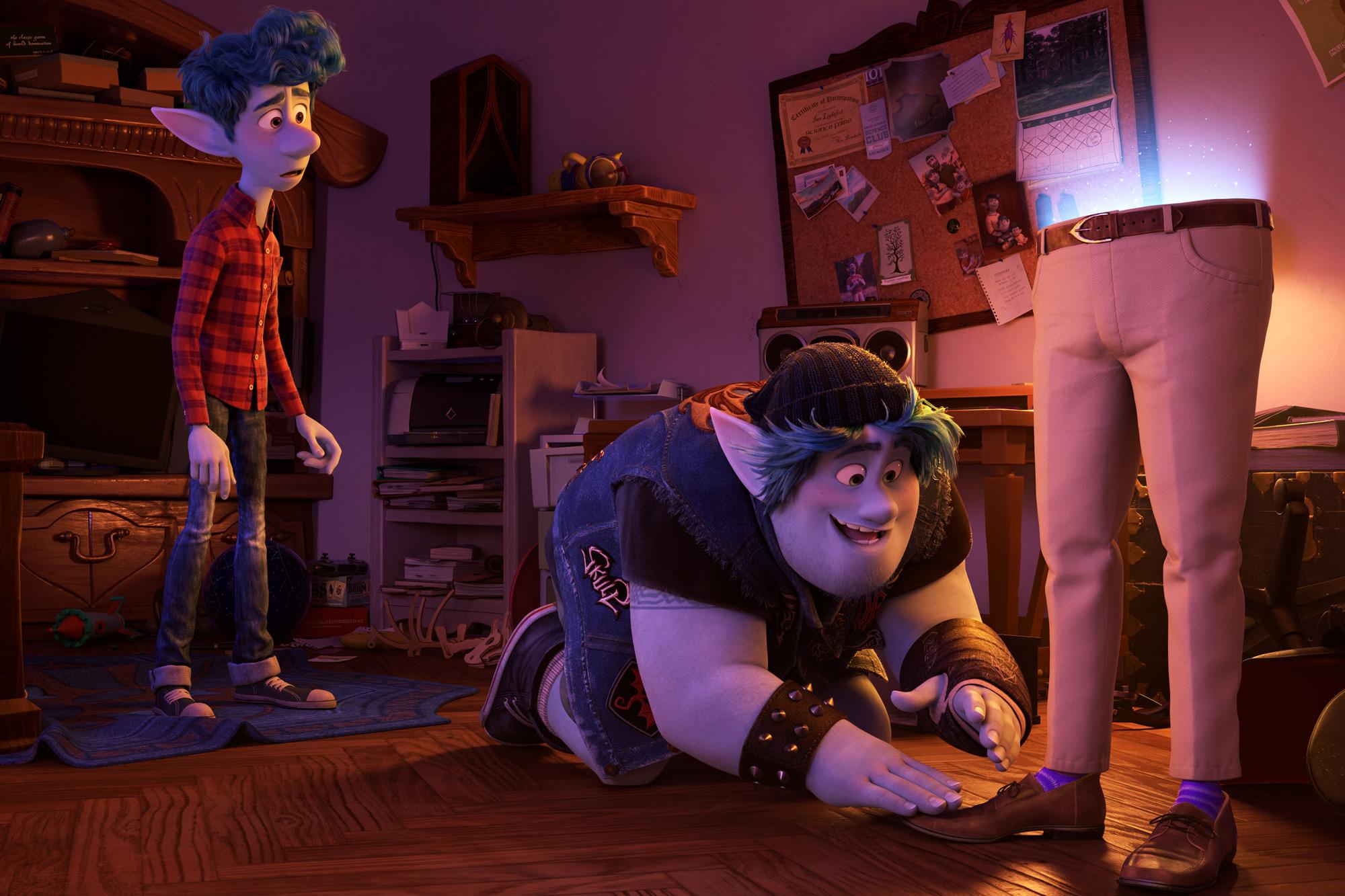 Onward blu ray' Review: Pixar's Elf-Family Fantasy's Light on Company's ...