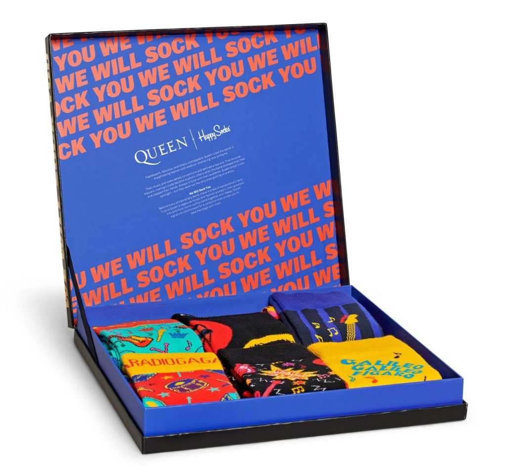 We Will Sock You: Queen Launches Sock Collaboration Inspired by Their Greatest Hits