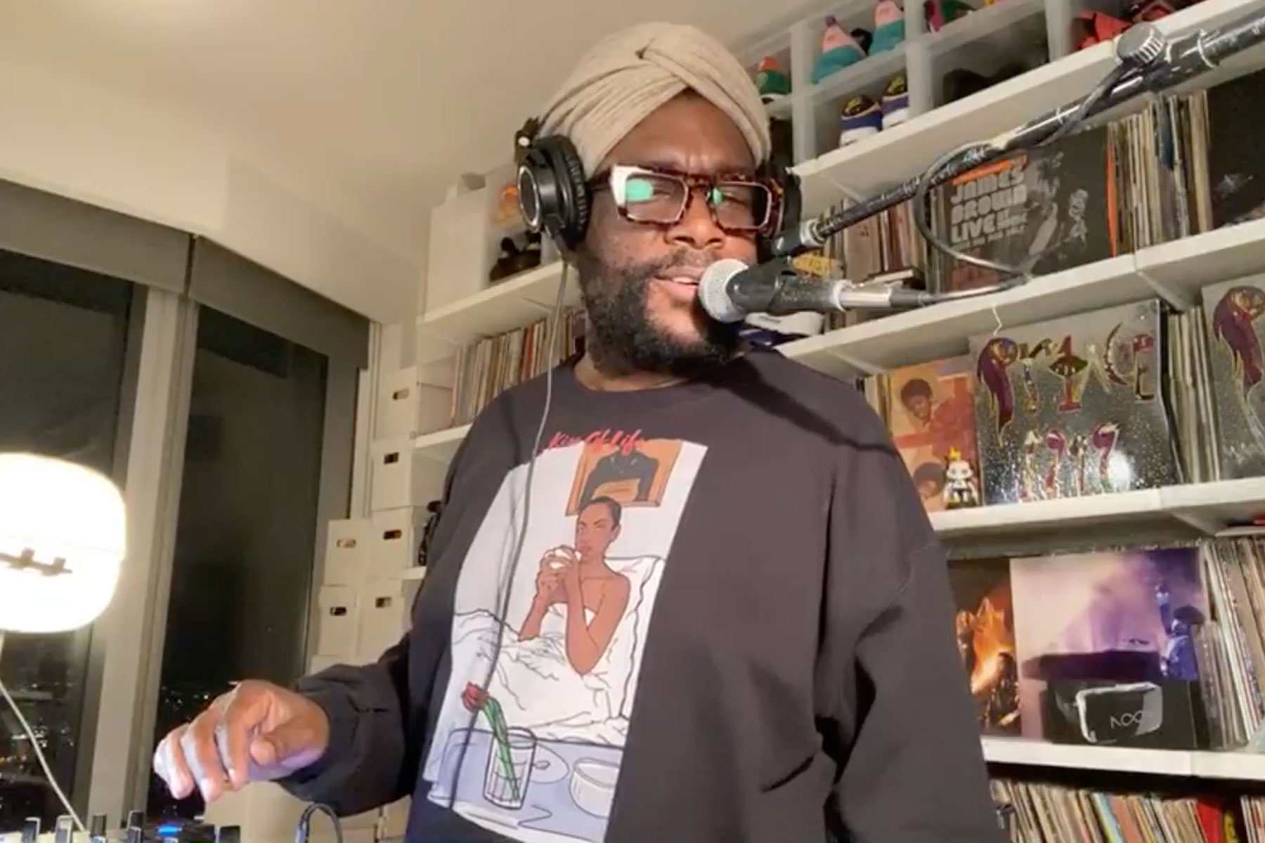 Watch Questlove Spin Four Hours of Sweet Self-Isolation Slow Jams