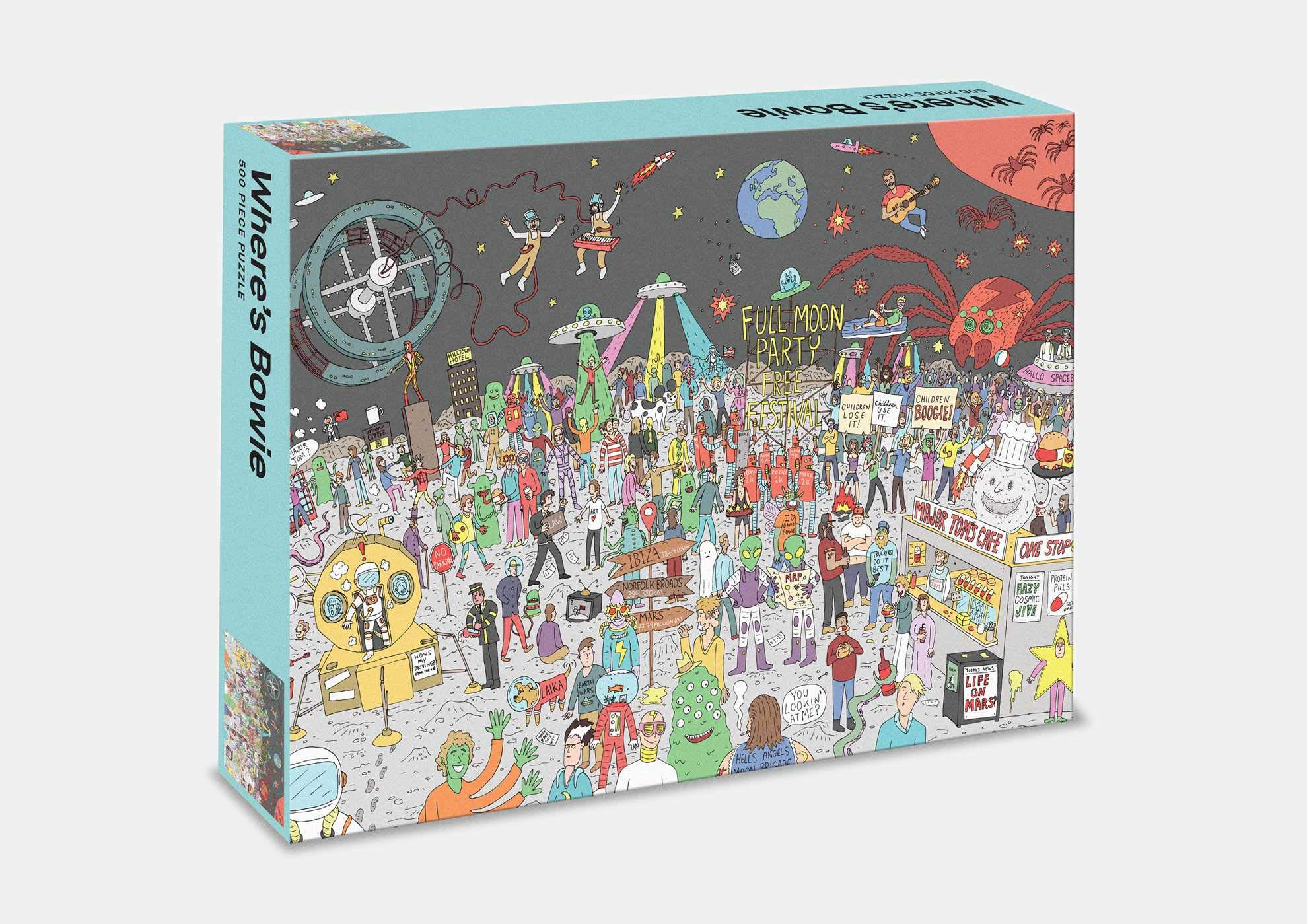 Wheres Bowie 500 Piece Jigsaw