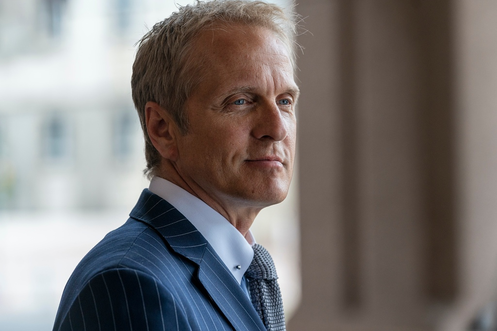 Patrick Fabian as Howard Hamlin - Better Call Saul _ Season 5, Episode 4 - Photo Credit: Greg Lewis/AMC/Sony Pictures Television