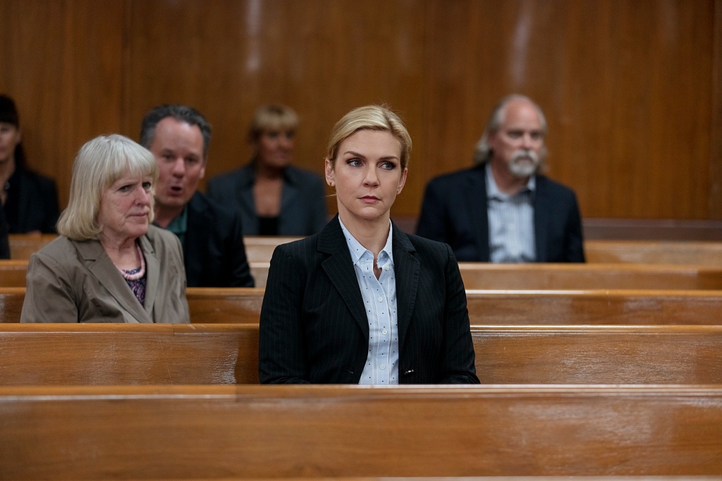 Rhea Seehorn as Kim Wexler - Better Call Saul _ Season 5, Episode 4 - Photo Credit: Greg Lewis/AMC/Sony Pictures Television