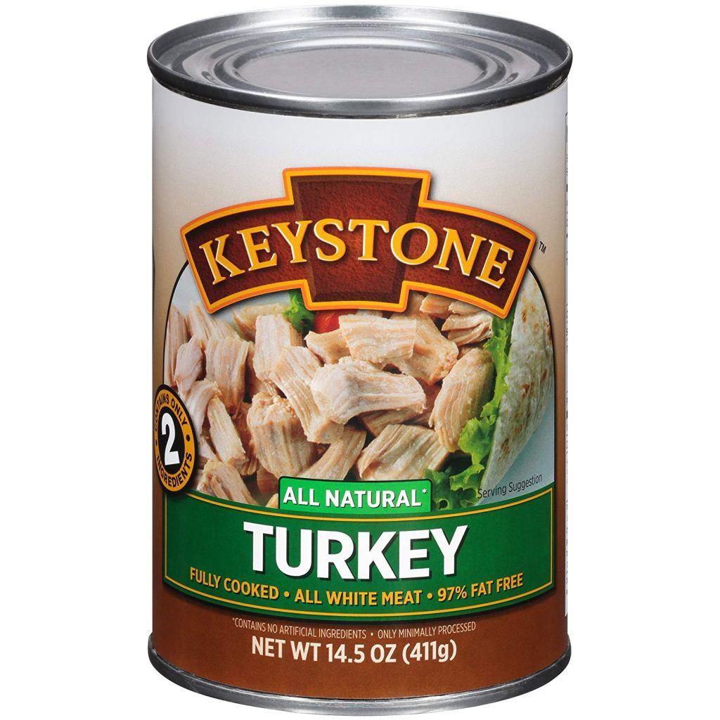 canned turkey