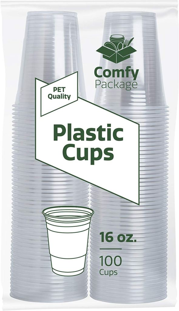 best clear plastic cups