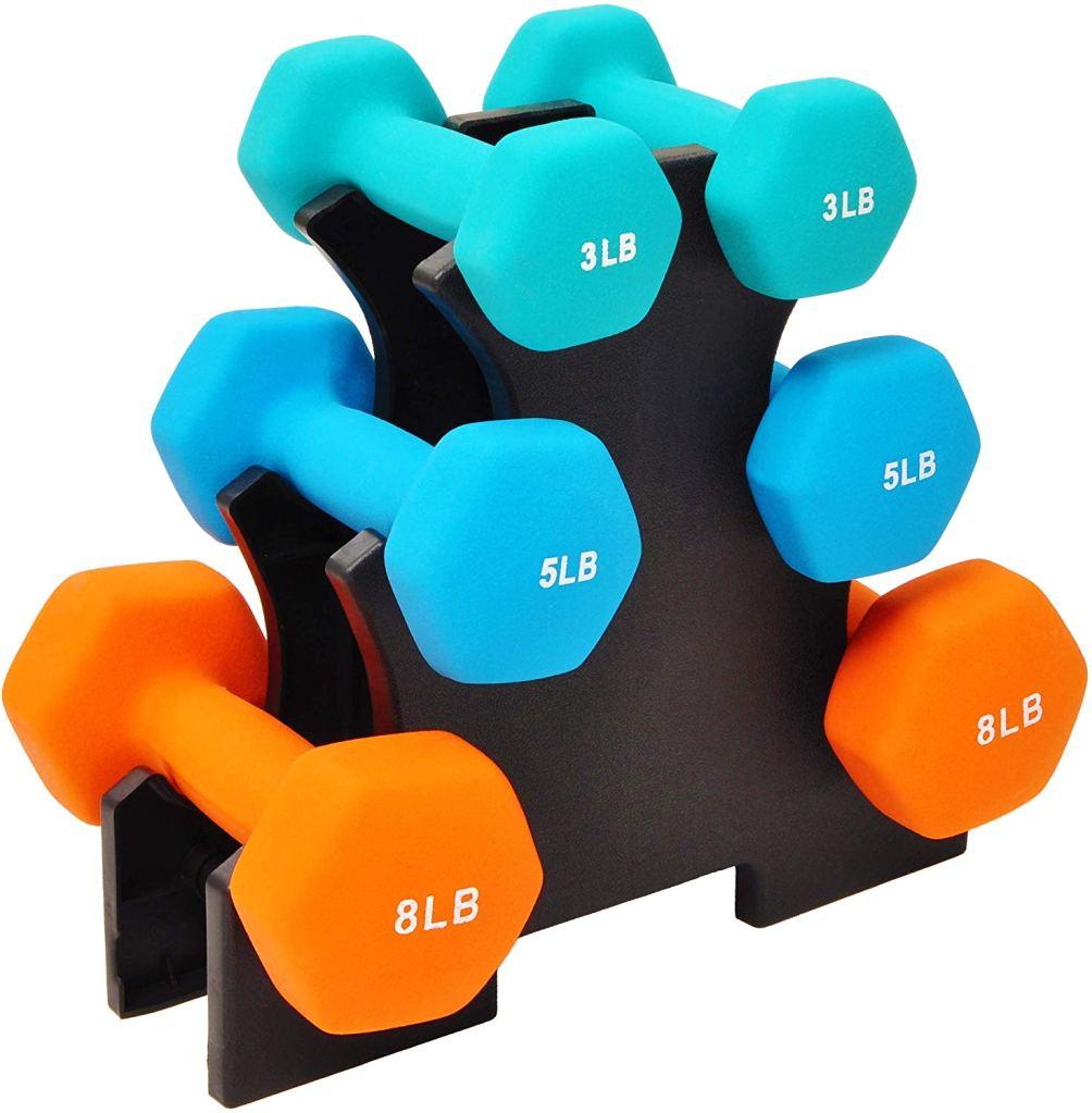 best dumbbell rack set