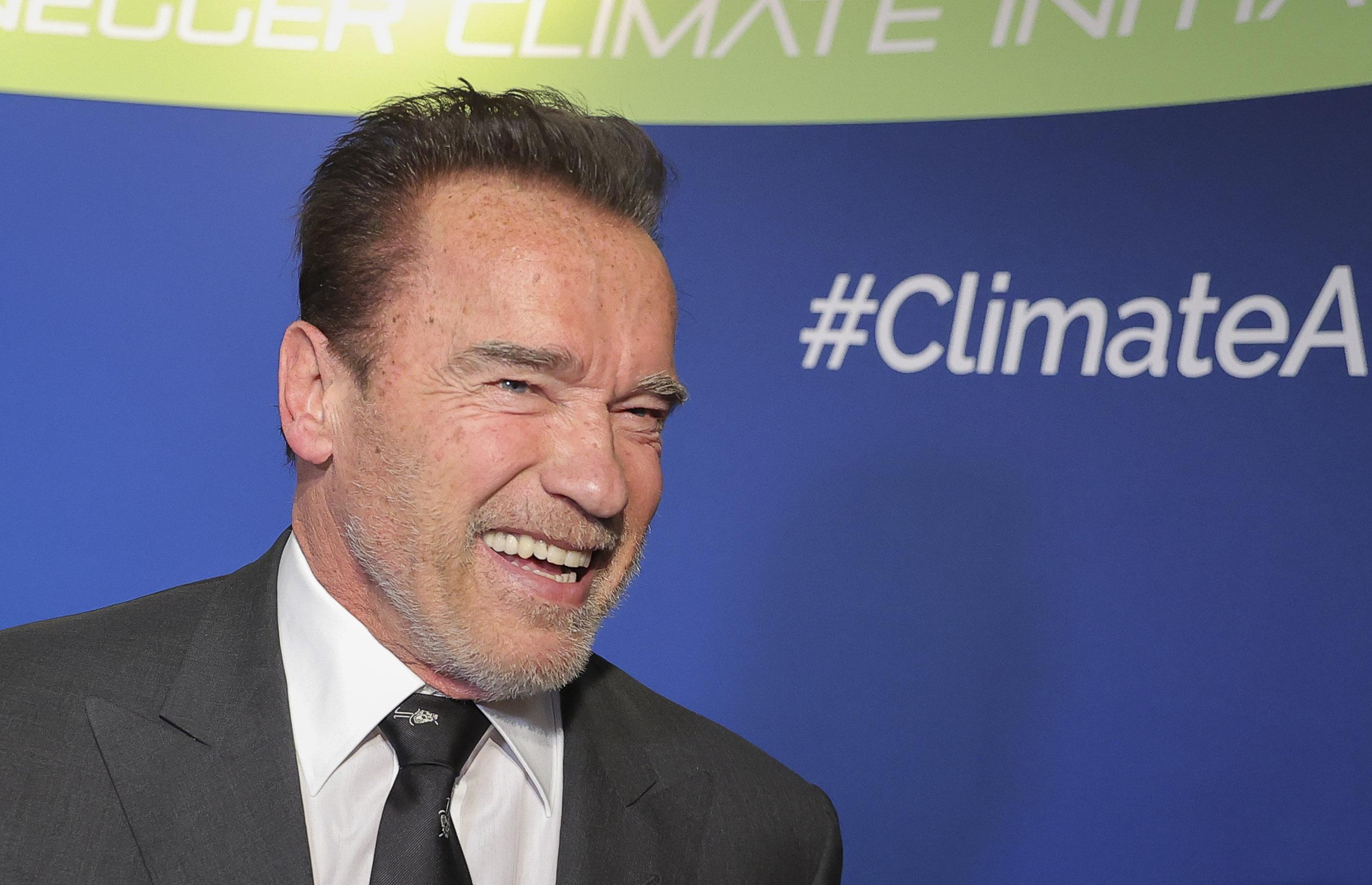 Arnold Schwarzenegger and His Mini Livestock Offer Coronavirus Advice