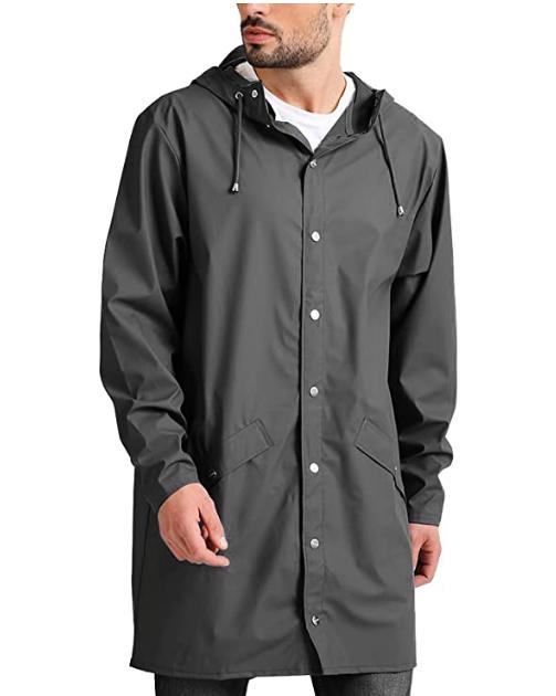 stylish raincoat jacket