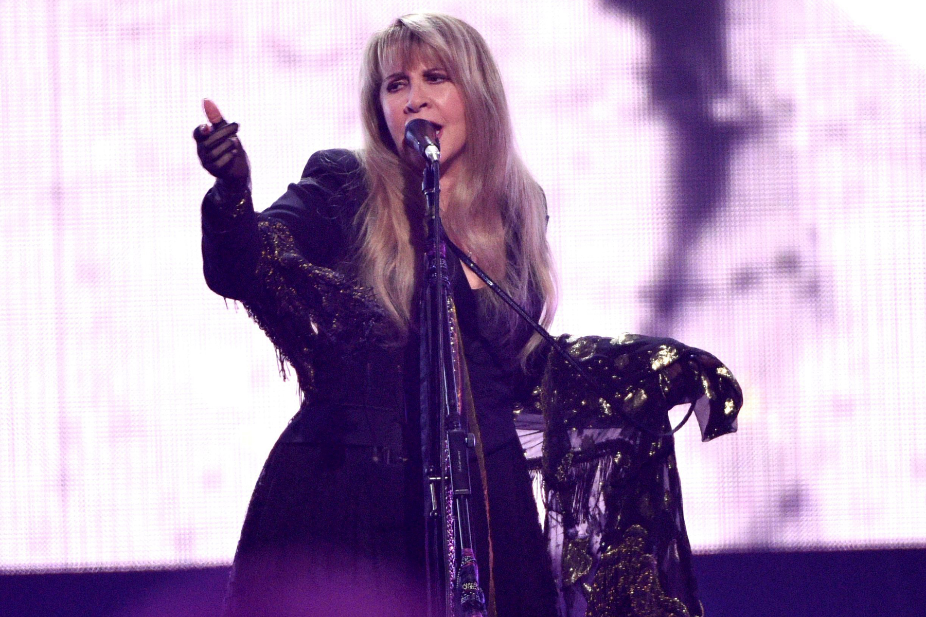 Inductee Stevie Nicks performs at the Rock & Roll Hall of Fame induction ceremony at the Barclays Center, in New York2019 Rock and Roll Hall of Fame Induction Ceremony - Show, New York, USA - 29 Mar 2019