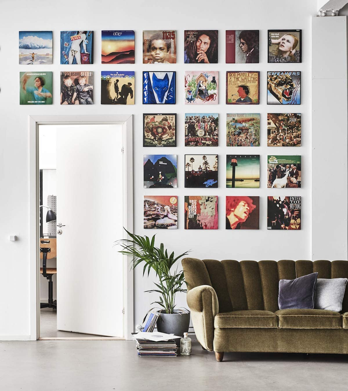 How To Frame And Display Your Vinyl Records Rolling Stone