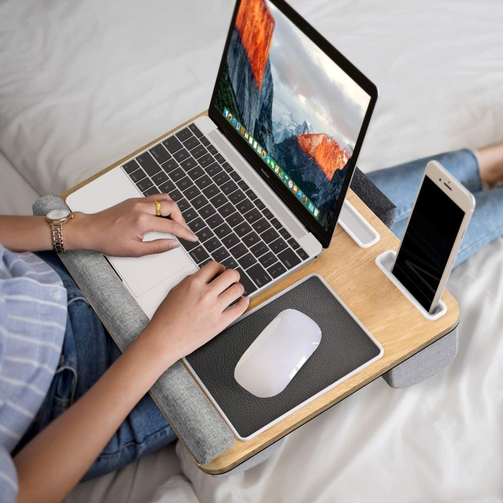 lap desk laptop bed
