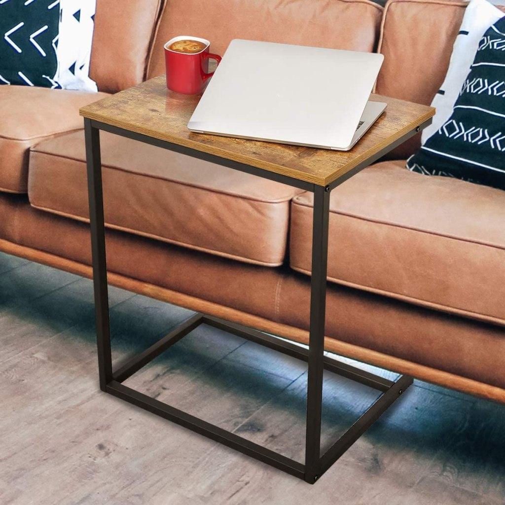 couch desk side table