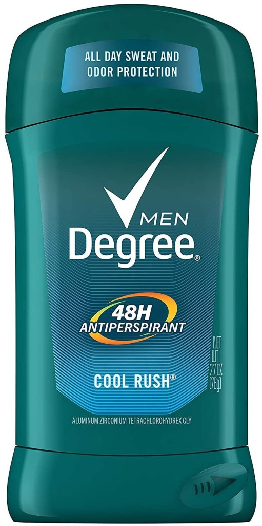degree cool rush