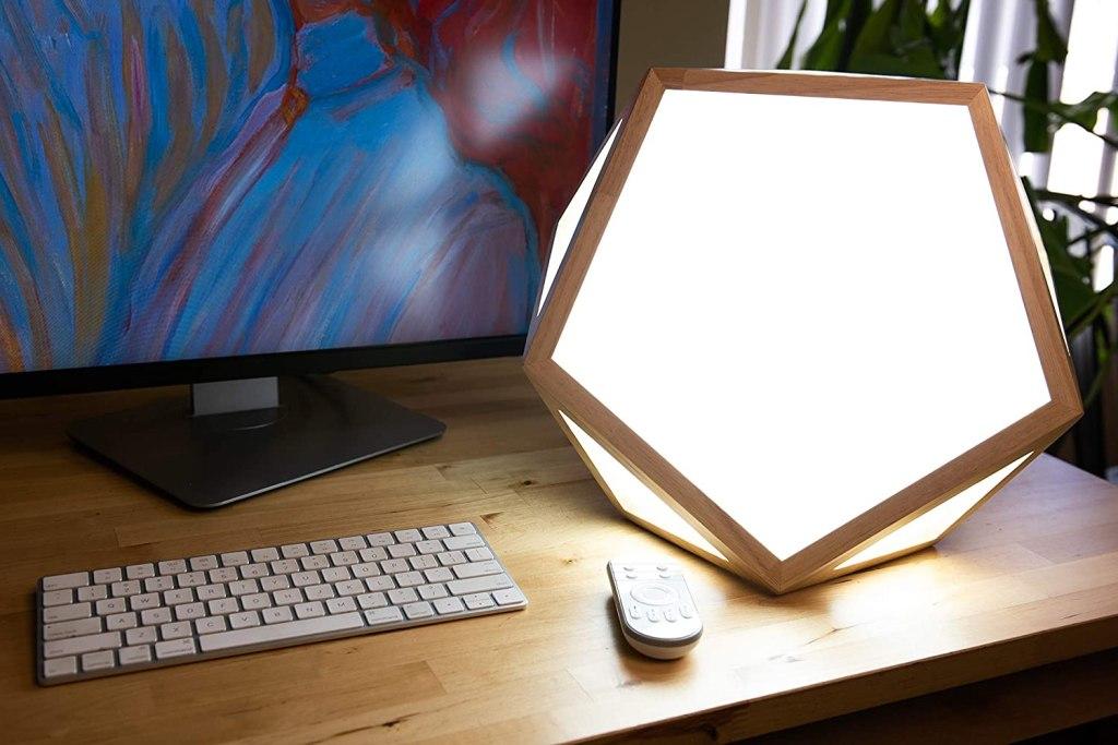 sunlight lamp desk