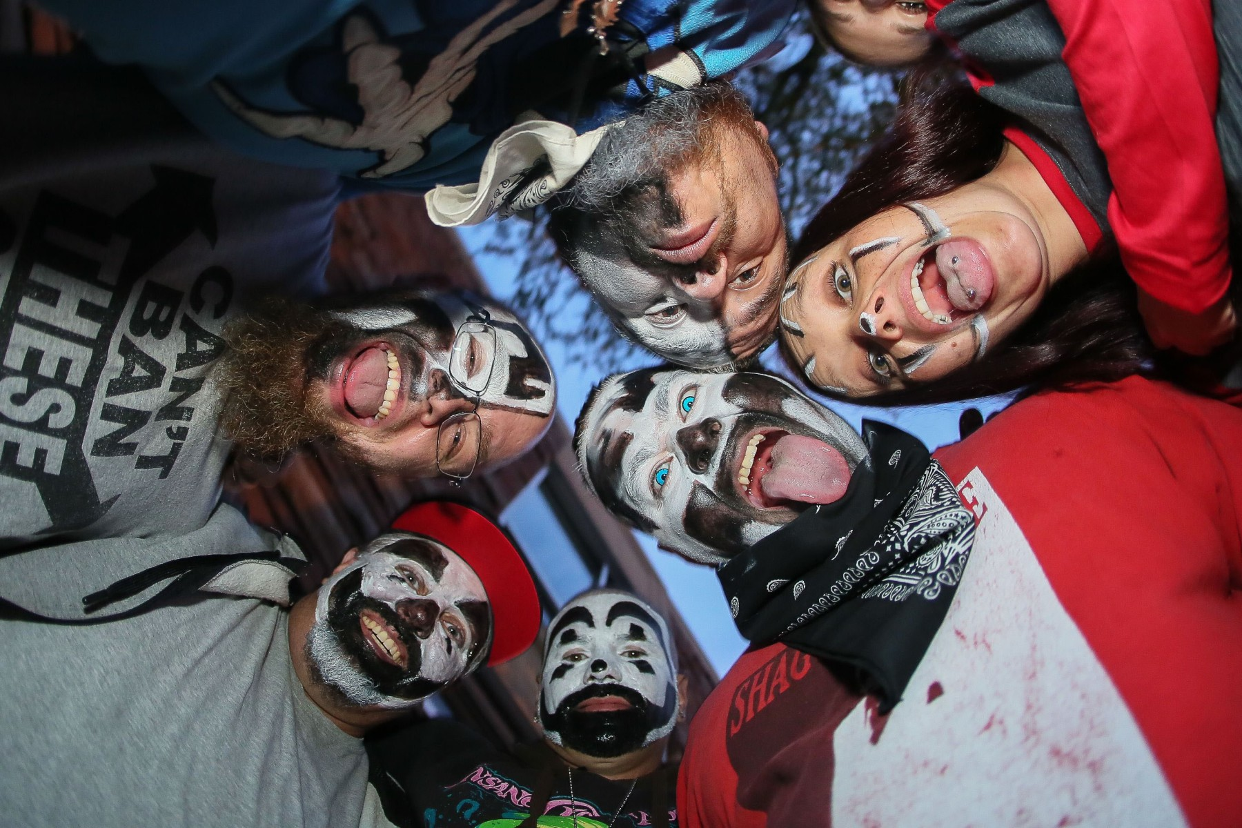 Juggalo's at Insane Clown Possee ConcertInsane Clown Posse in concert at the Boulder Theater, USA - 25 Sep 2017