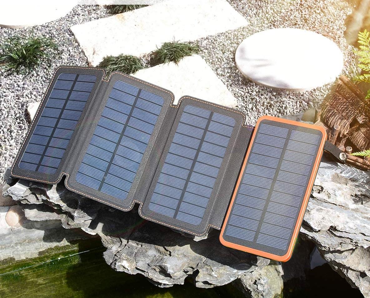 ANTOPP Solar Battery Pack