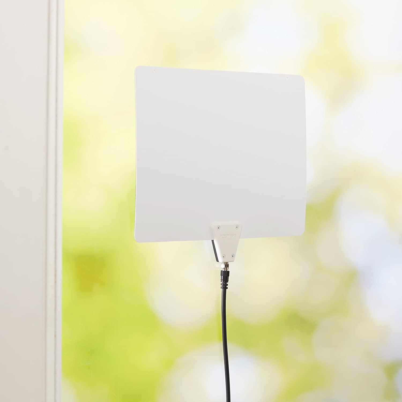Amazon Basics Ultra Thin Indoor TV Antenna