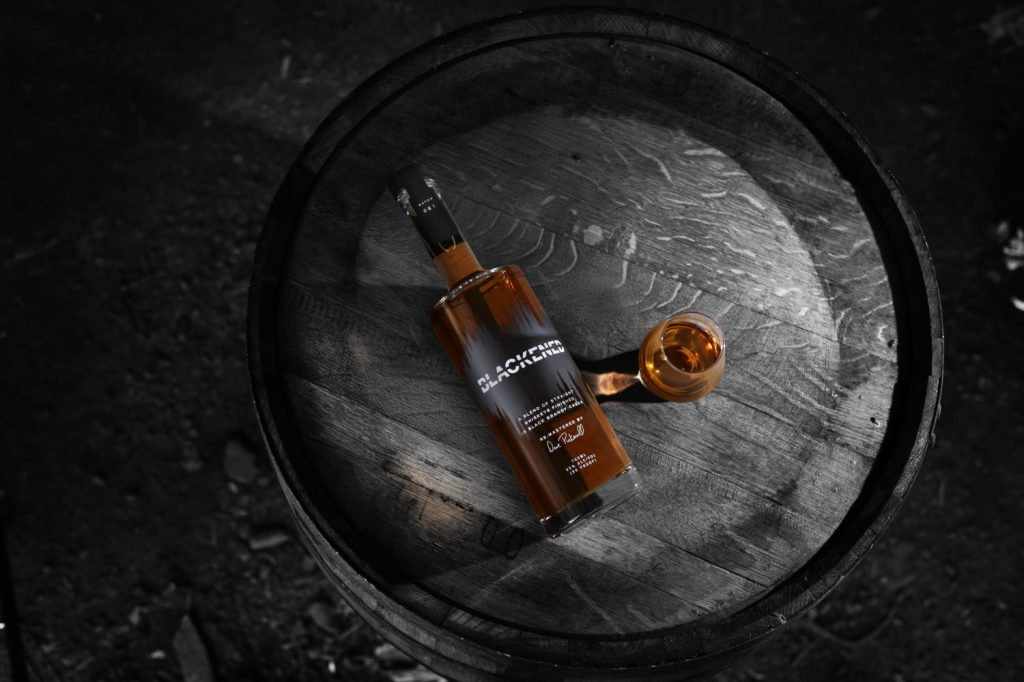 metallica blackened whiskey