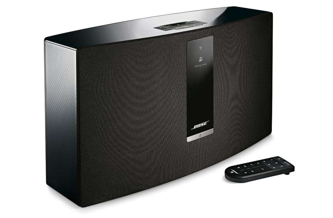 Bose SoundTouch 30 wireless speaker, works with Alexa - Black