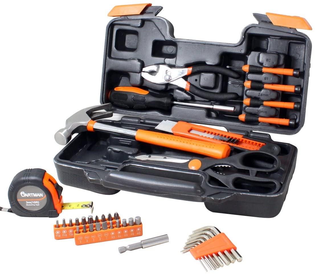 Cartman Orange 39 Piece Tool Kit