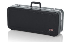 Gator Cases Lightweight Molded Alto Saxophone Case with Locking Latch and Plush Lined Interio