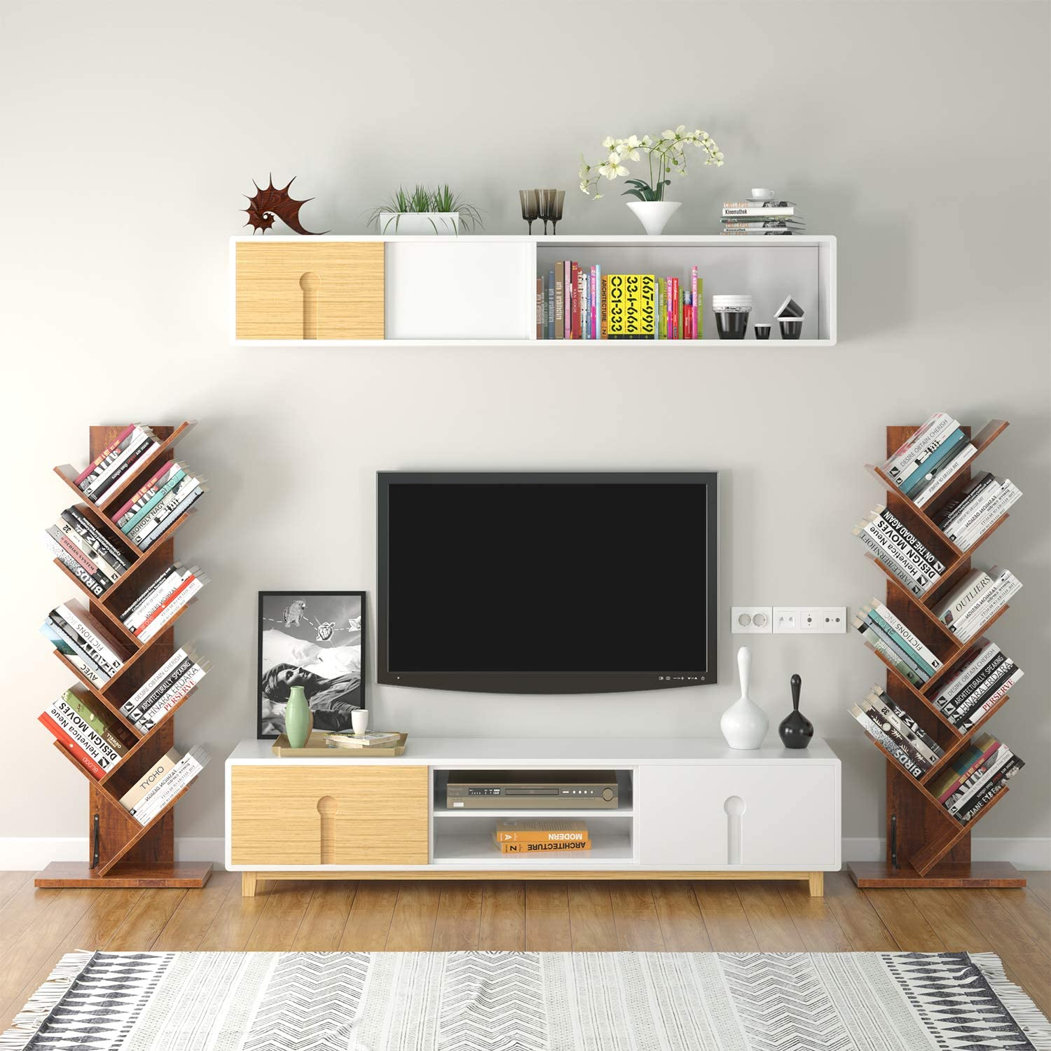 Homfa Tree Bookshelf