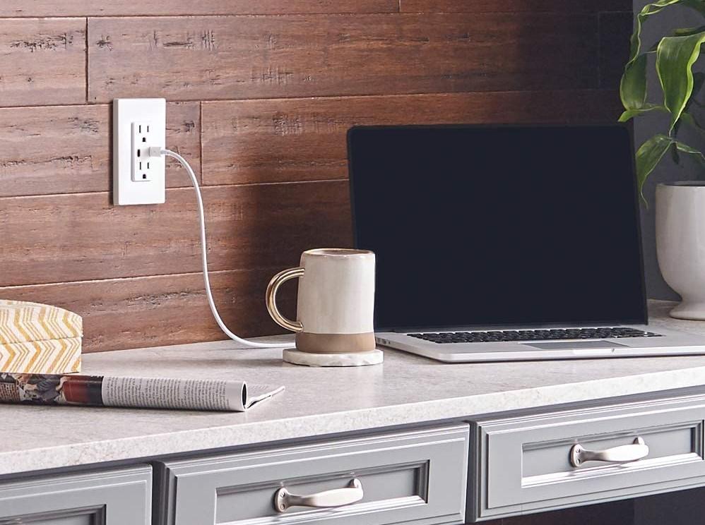 Leviton USB-C Power Outlet
