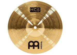 "Meinl 10"" Splash Cymbal – HCS Traditional Finish Brass for Drum Set"
