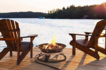 Best Outdoor Fire Pits 2021 Wood Vs Propane Backyard Patio Fire Pit Rolling Stone