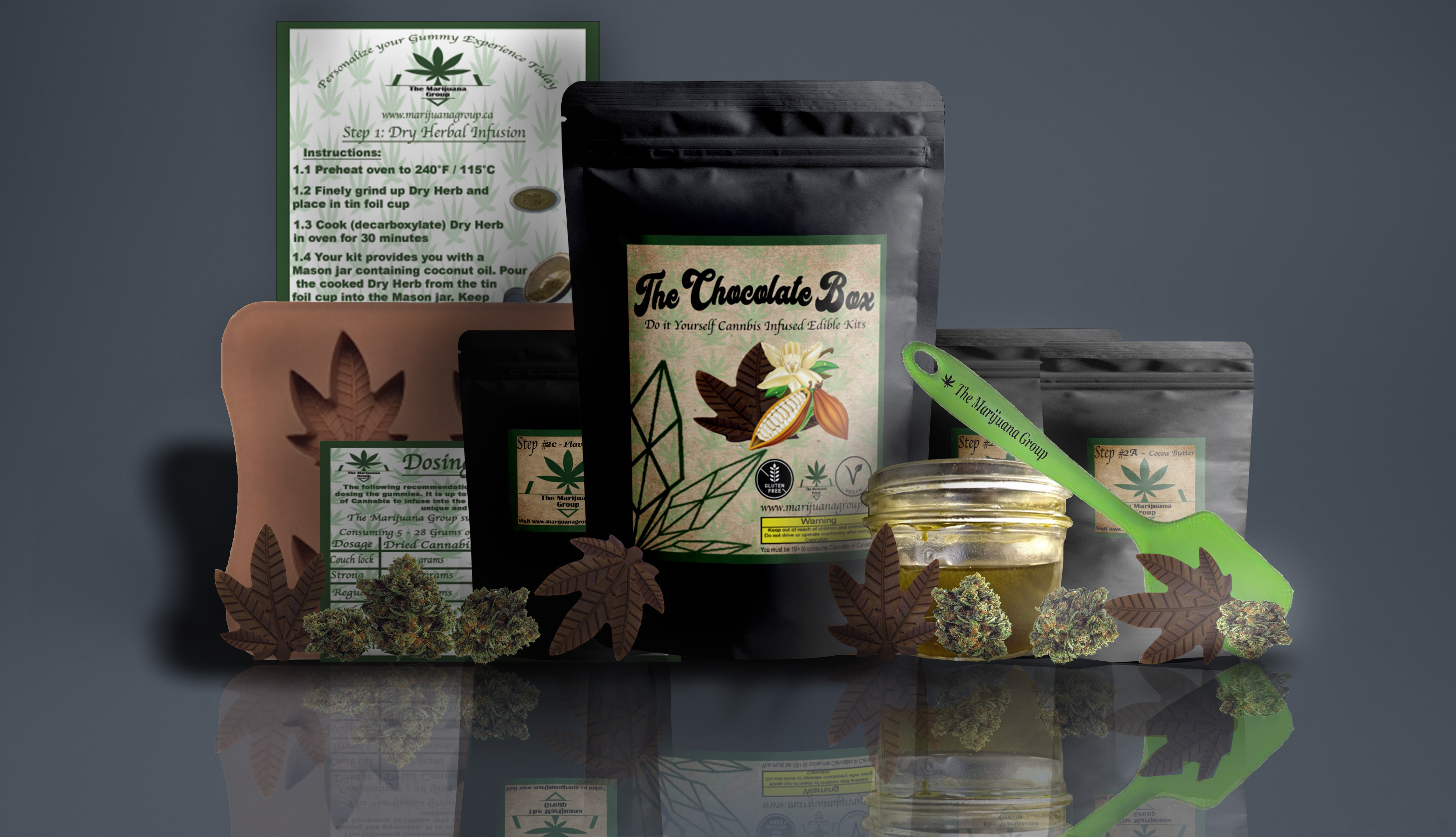 Marijuana Group Chocolate Kit