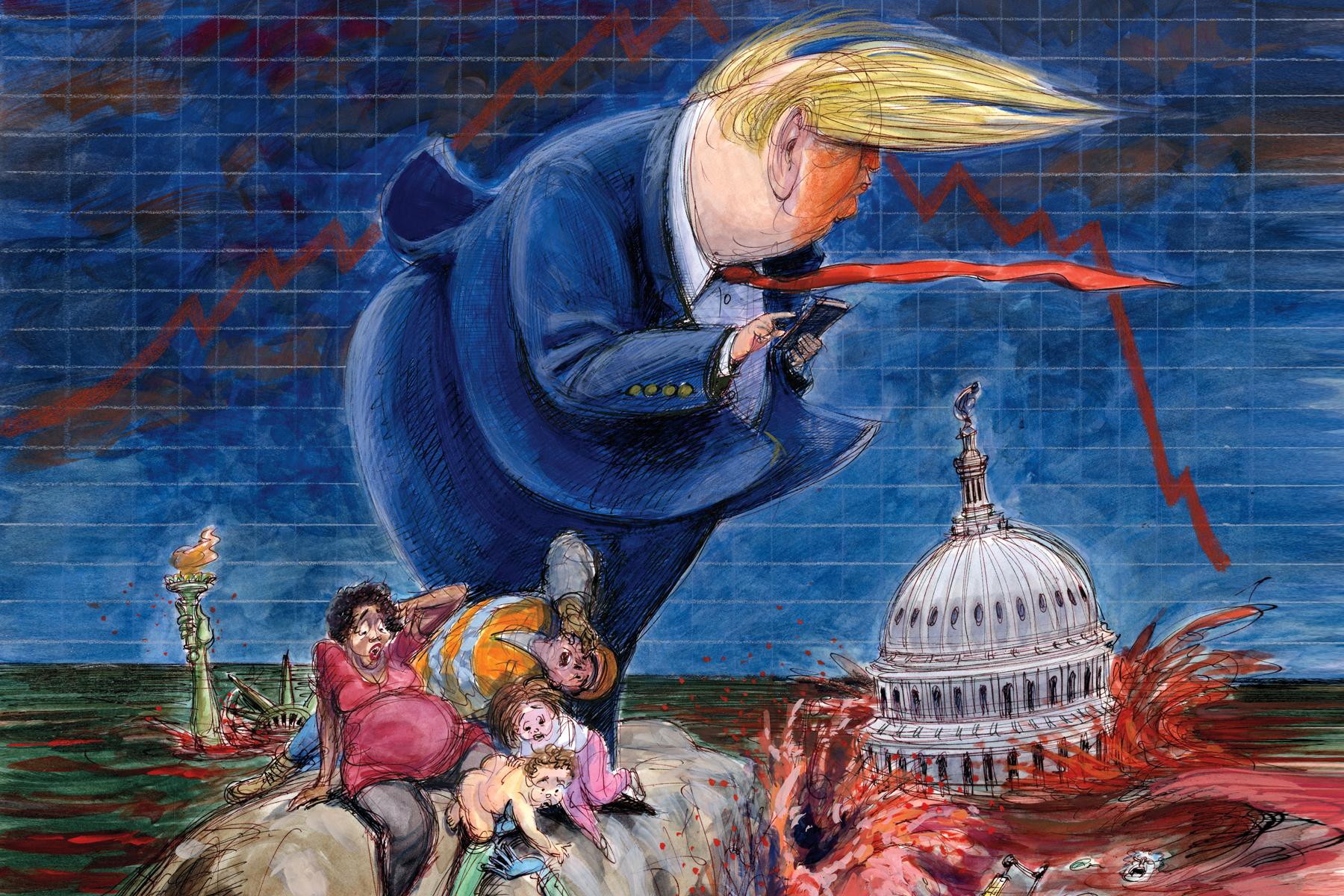 US Politics Trump Era 2016-2020 cover image