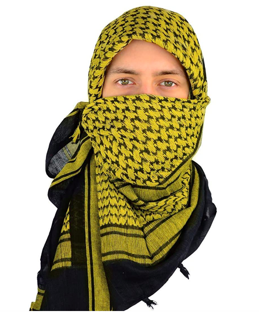 large mens scarf head wrap