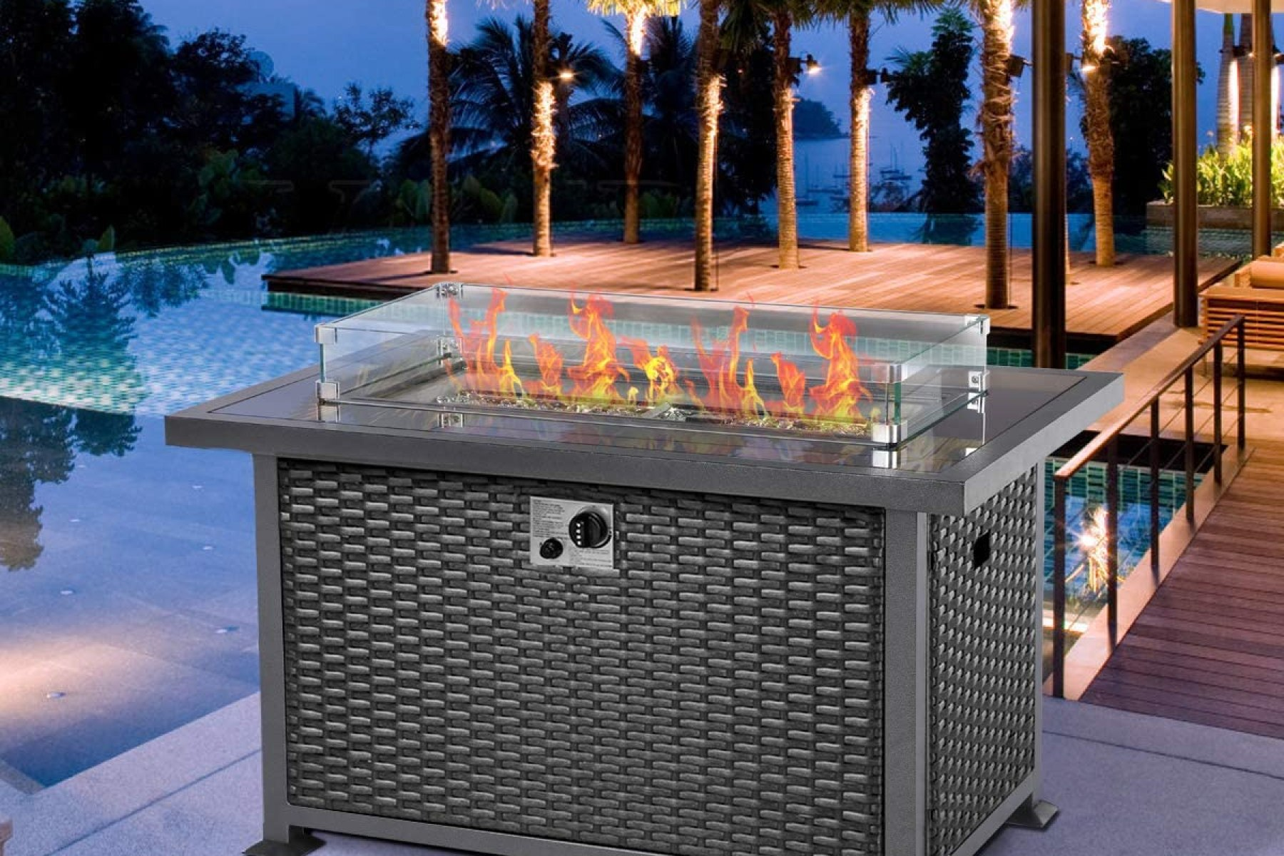 Best Fire Tables 2020 Backyard Patio Fire Pit Alternatives Rolling Stone