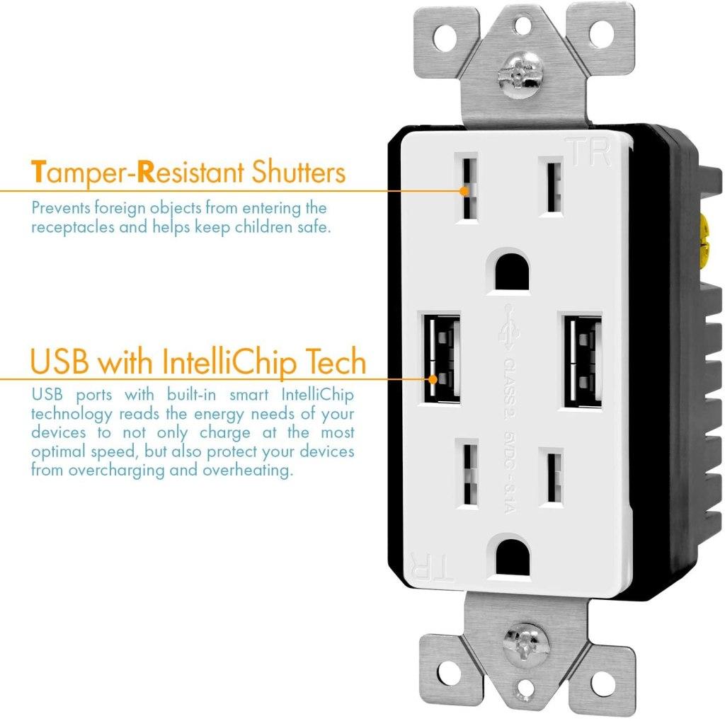 best usb outlet