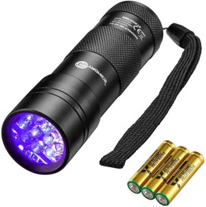 blacklight flashlight taotronics