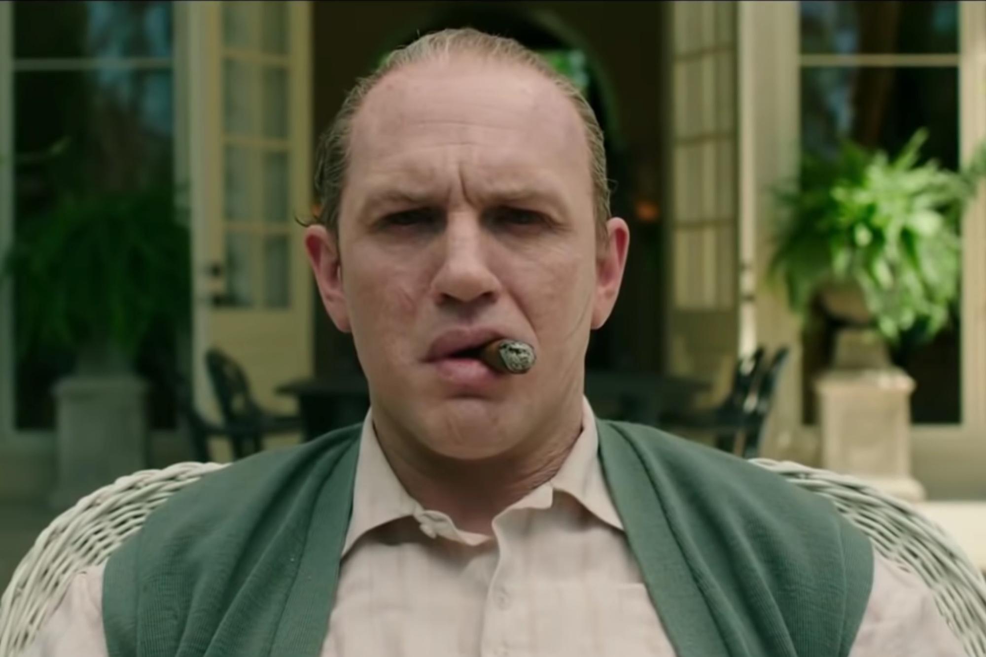 See Tom Hardy Portray Dementia-Stricken Gangster in 'Capone' Trailer
