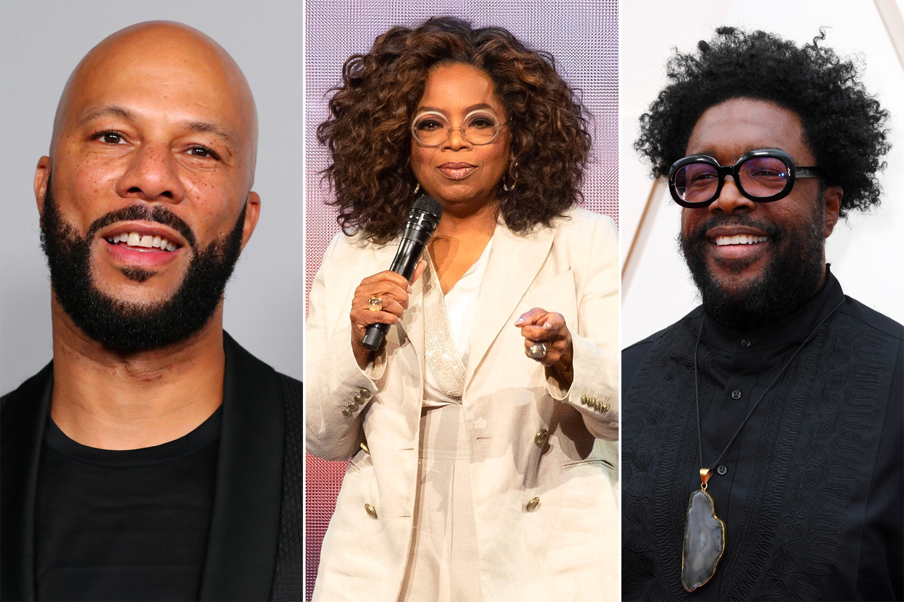 Oprah Winfrey, Questlove, Common Join 'Call to Unite' 24-Hour Livestream