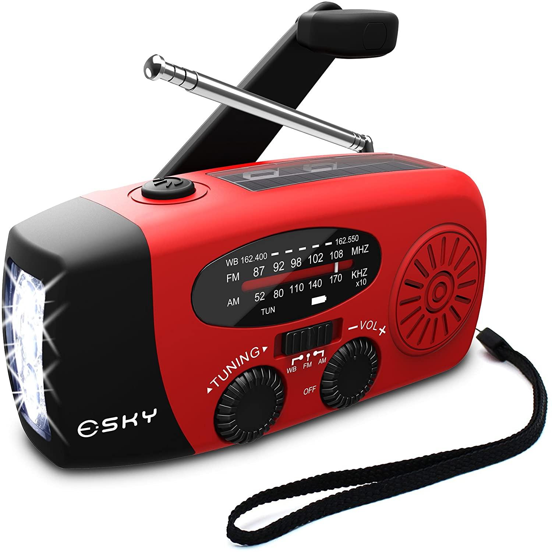 esky emergency portable radio