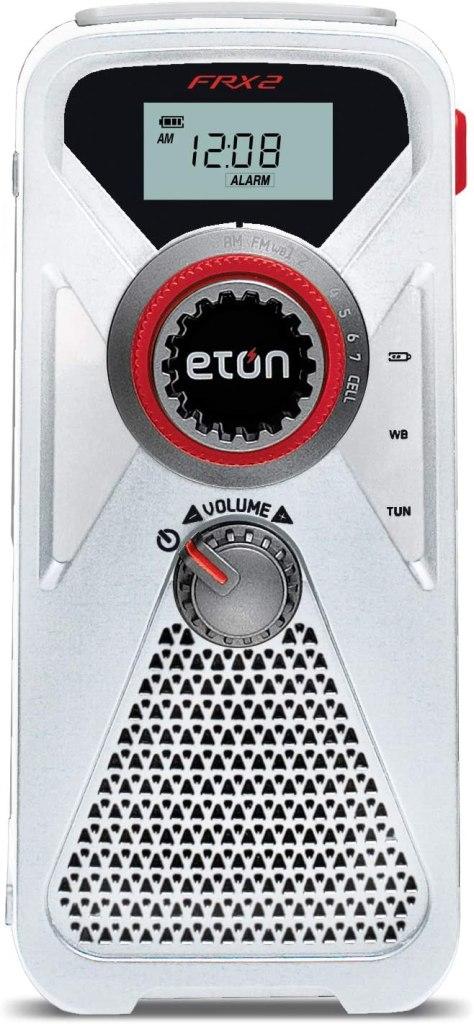 eton weather radio smartphone charger