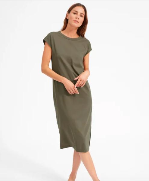 everlane t-shirt dress