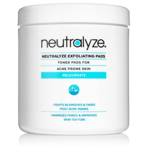 acne treatment exfoliating pads neutralyze