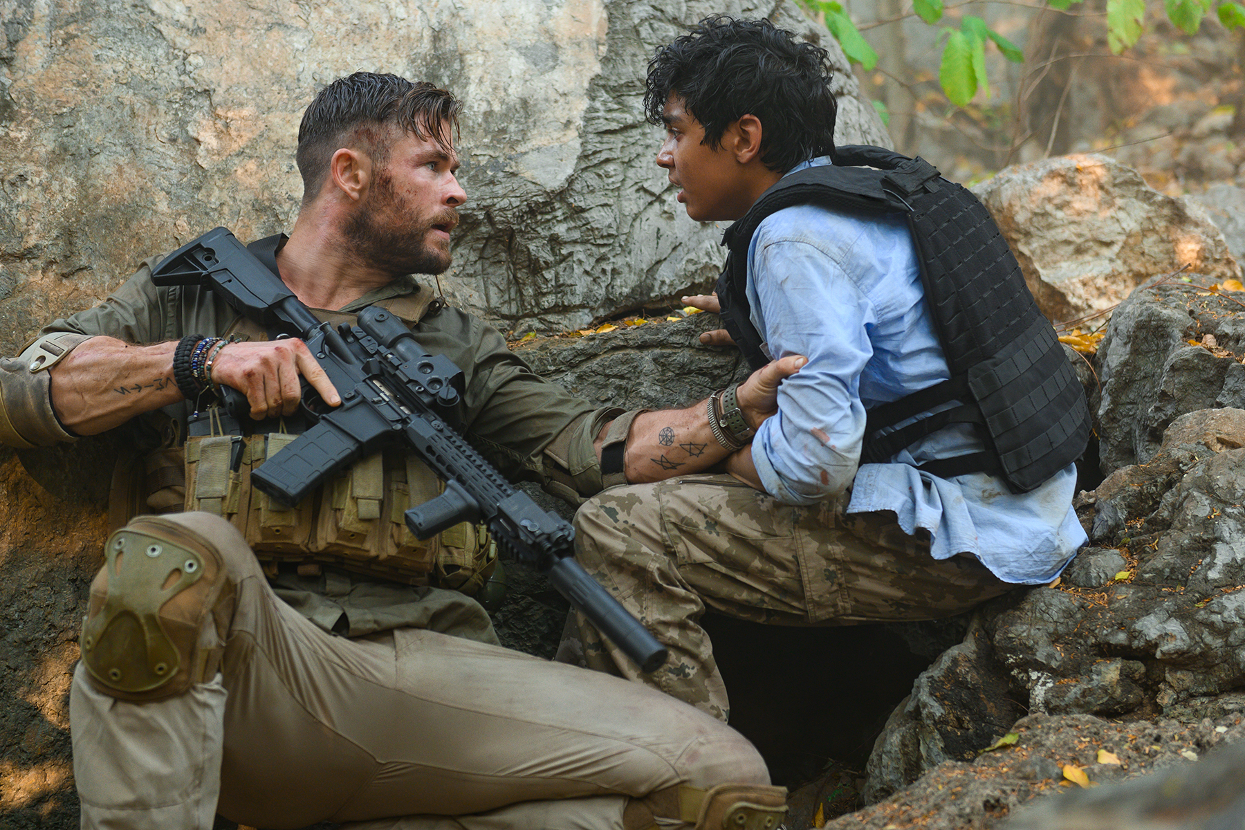 Extraction Movie Review Starring Chris Hemsworth Rolling Stone