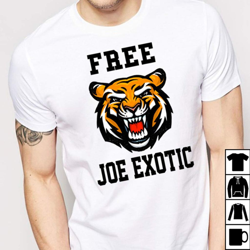 free joe exotic t-shirt