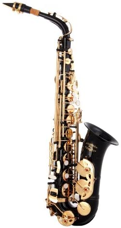 glory black gold saxophone